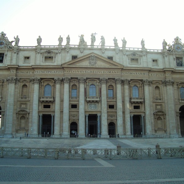 The grand St Peter Basilica