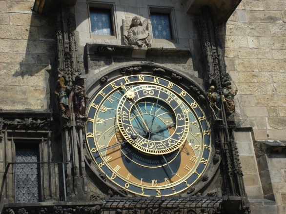 Oldest working astronomical clock
