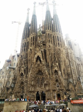 The famous church - Sagrada familia