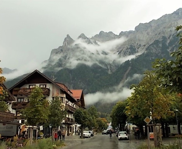 The pretty town of Mittenwald